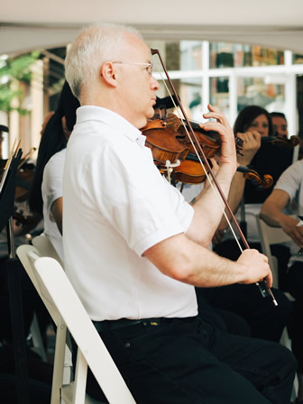 New Phil Concert Master
